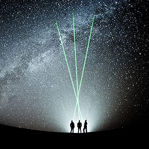 GVU Laser Pointers,Green Laser Pointer high Power Daytime Visible Beam, Adjustable Beam High Power Laser Pointer for Outdoor Hiking,for Laser Pointers Powerful for Cats Train Your pet