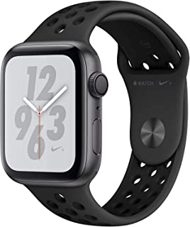 Apple Watch Nike+ Series 4 44mm (GPS) - Caja De Aluminio En Gris Espacial / Antacita/Negro Nike Sport Correa (Reacondicion...
