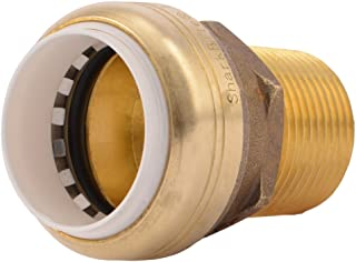 SharkBite PVC Connector UIP140A 1 inch X 1 inch Male NPT Plumbing Fitting