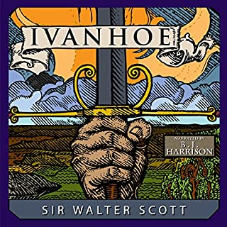 Ivanhoe audiobook cover art