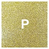 YEZIO Vinilo de Transferencia de Calor 1 Rollo 12'x5 '/ 30cmx150cm Transferencia térmica Glitter Vinyl Roll (HTV) para los Bolsillos de la Ropa de la Camiseta. para Camisetas (Color : Golden)