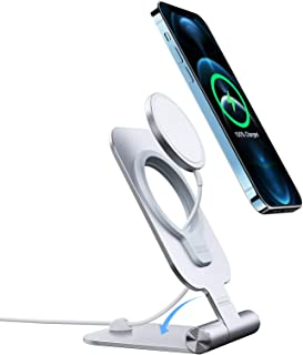 Nillkin Stand for MagSafe Charger Stand, Aluminum Phone Stand Holder for magsafe Wireless Charger for iPhone 12 Pro Max 12...