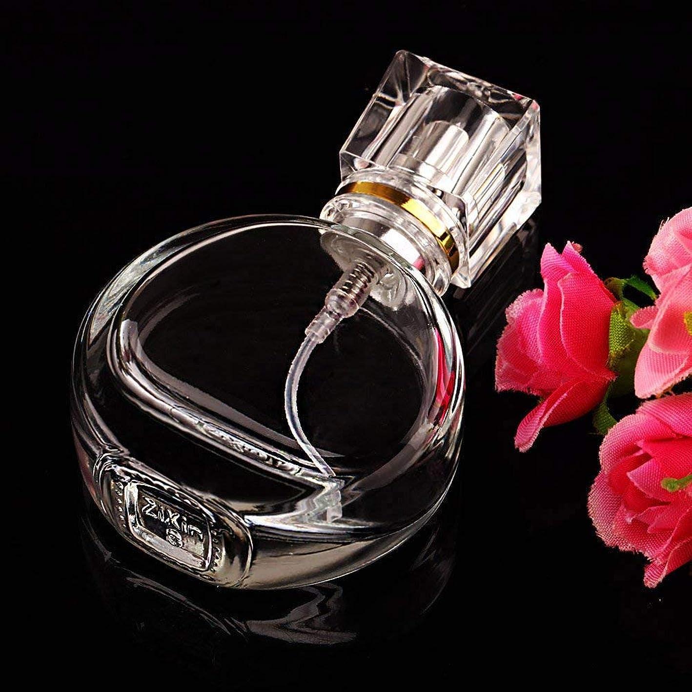 癌黙槍VERY100 高品質ガラスボトル 香水瓶  アトマイザー  25ML 透明 シンプルデザイン ホーム飾り 装飾雑貨
