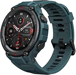 Amazfit T-Rex Pro Smartwatch Fitness Watch with Built-in GPS, Military Standard Certified, 18 Day Battery Life SpO2 Heart ...