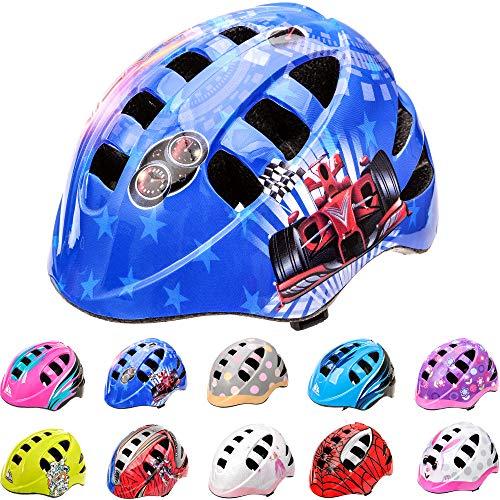 Casco Bicicleta Casco Biciclea Casco Bici Casco de Bicicleta para niños y jóvenes Casco MTB Carretera Ciclismo Skate Bicicleta patineta Patines monopatines MA-2