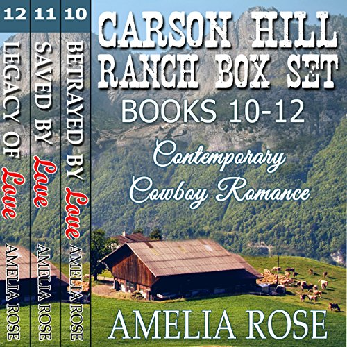 Carson Hill Ranch Box Set - Books 10-12 cover art