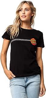 Santa Cruz Womens Opus Dot Foil Crop Boyfriend Shirts