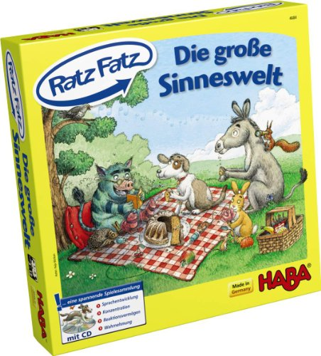 HABA 4684 - Ratz Fatz Sinneswelt, Spiel