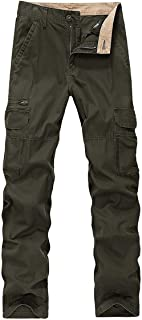 Cargo Pants Men Cotton Tactical Trousers Men Work Mens Trousers Overalls