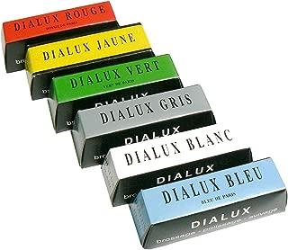 Dialux Jewelry Polishing 6 Bars Jewelers Rouge Polish Jewelry and Metals