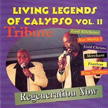 Living Legends Of Calypso Vol. II (Tribute)