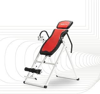 SportPlus Inversiebank, inklapbare zwaartekrachttrainer, met 6 inversiehoeken, strekbank ter ontlasting van de wervelkolo...