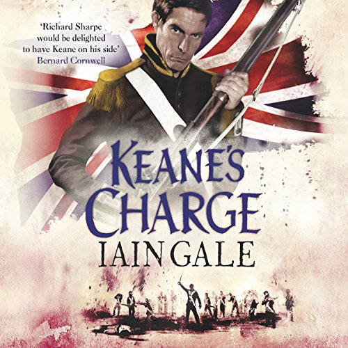 Keane's Charge audiobook cover art