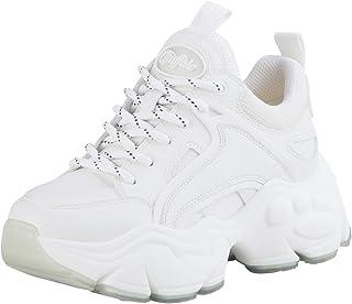 Buffalo Damen Low-Top Sneaker Binary C, Damen Chunky Sneaker,markante Sohle