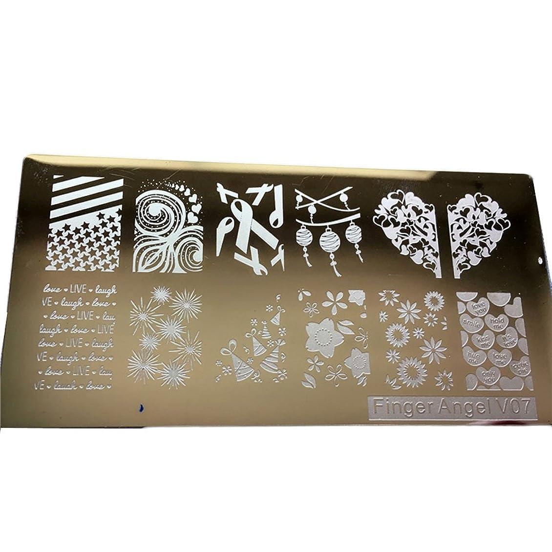 疎外南方のこどもセンター[ルテンズ] スタンピングプレートセット 花柄 ネイルプレート ネイルアートツール ネイルプレート ネイルスタンパー ネイルスタンプ スタンプネイル ネイルデザイン用品