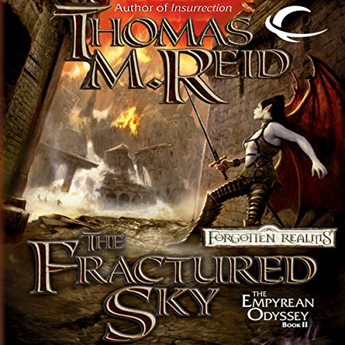 The Fractured Sky audiobook cover art