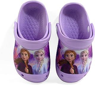 Disney Frozen 2 Anna & Elsa Themed Girls Clogs