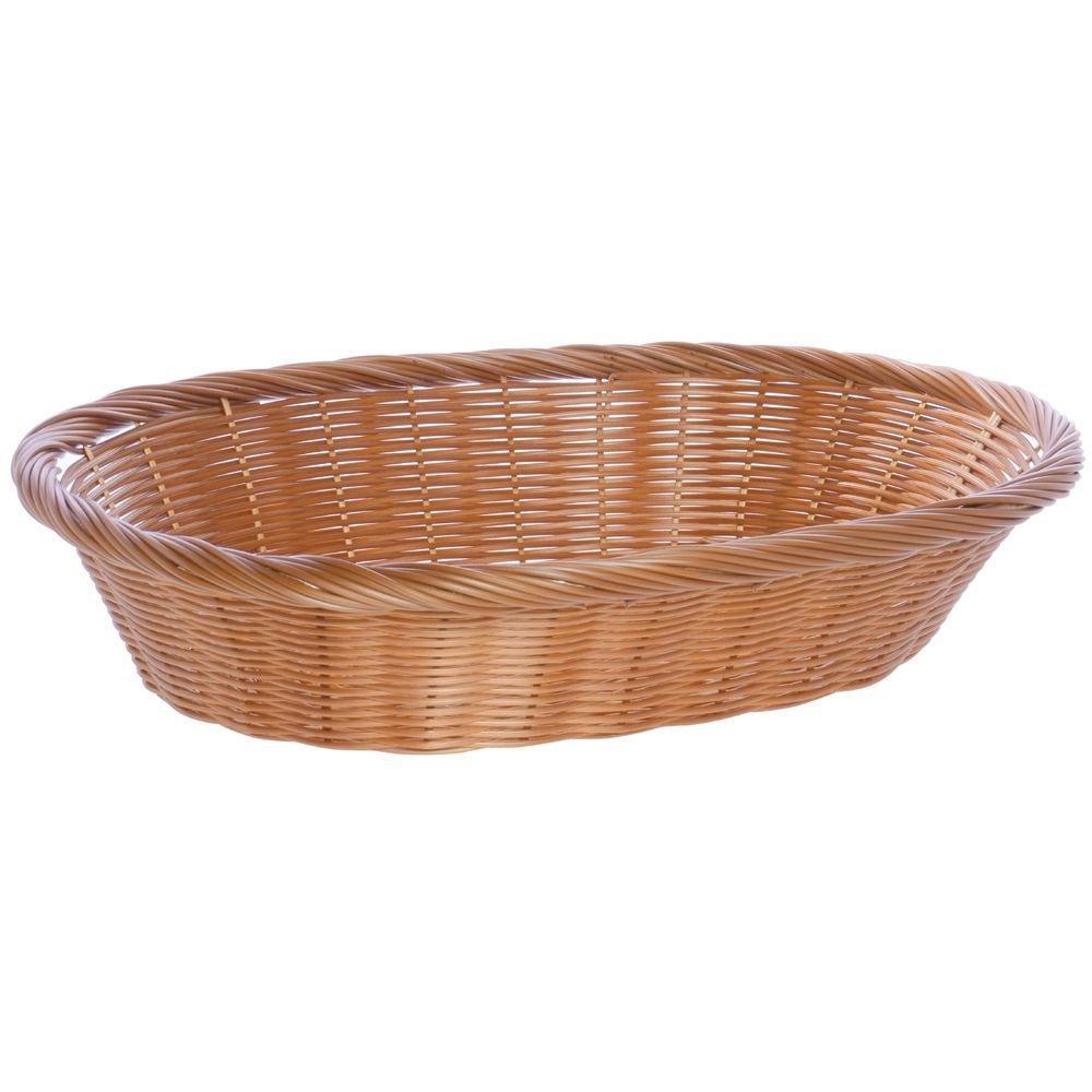 Large Oval Award-winning store Basket Beige - 23 17 1 x 5