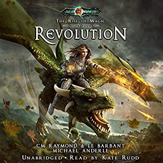 Revolution: A The Rise of Magic, Book 4 audiobook cover art