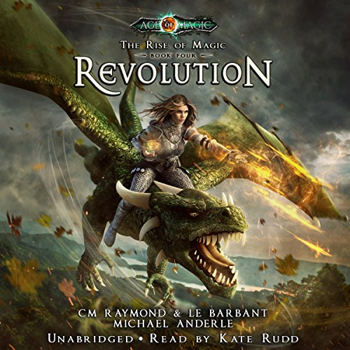 Revolution: A The Rise of Magic, Book 4 cover art