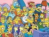 Blanriguelo Rompecabezas Adultos 1000 Puzzles para Adultos Los Simpson: diversión Intelectual * para Infantiles Adolescentes dificultad Regalo para
