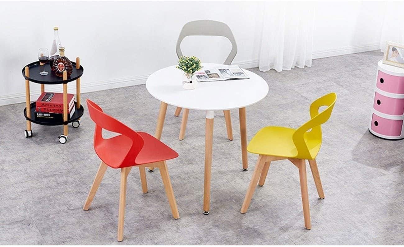HYL Chaises de Salle à Manger Salle à Manger Chaise Solide Chaise Maison en Bois Simple Chaise créative Chaise Moderne de Style Nordique (Color : C) B