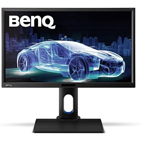 BenQ BL2420PT 24 inch QHD 1440p IPS Monitor | 100% sRGB |AQCOLOR Technology for Accurate Reproduction for Professionals , Black