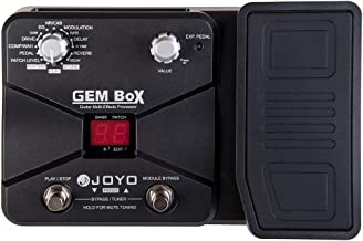 JOYO GEM BOX Multi-effects Pedal, Guitar Pedal Effect, Multi Pedal with 60 Effects & 25 Drive Sounds, Stomps/ AMP / Drum Machine