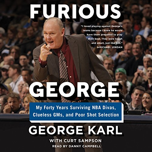 Furious George audiobook cover art