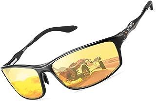 Night Driving Glasses Anti Glare Polarized Night Vision Glasses for Driving Men Women
