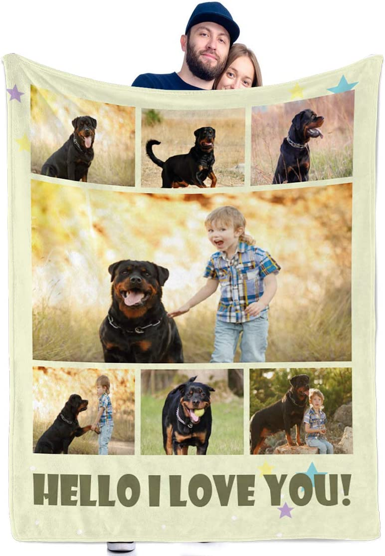 Custom Blankets Some reservation with Photos Personalized Baltimore Mall Collage Th and