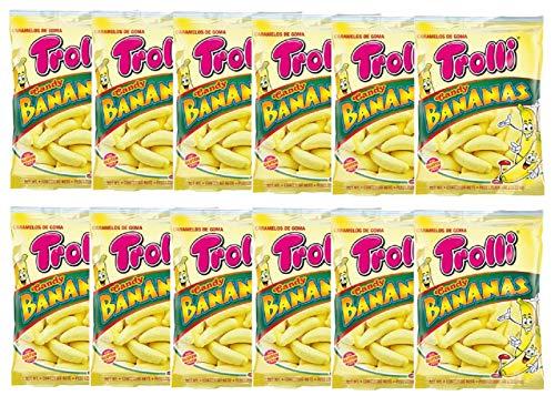 トローリ キャンディバナナ 100g×12袋