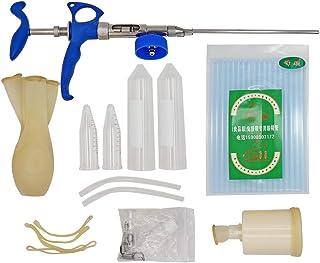 M.Z.A Kit de inseminación para conejos 2ML con colector de