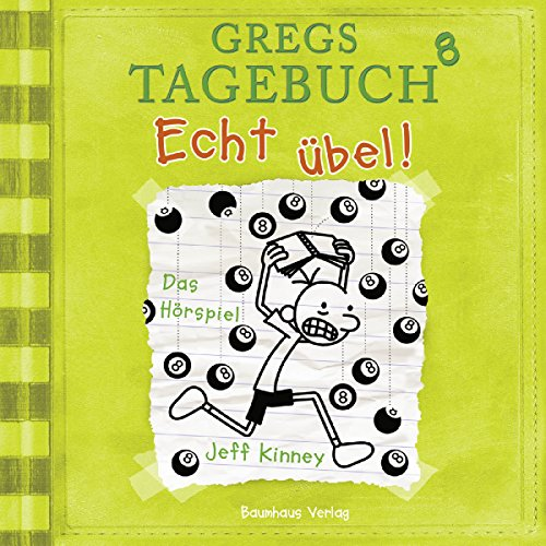Echt übel!     Gregs Tagebuch 8              By:                                                                                                                                 Jeff Kinney                               Narrated by:                                                                                                                                 Marco Eßer                      Length: 1 hr and 7 mins     Not rated yet     Overall 0.0