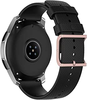 for Samsung Galaxy Watch 3 45mm Replacement Band - MOTONG 22mm Silicone Replacement Wrist Strap Band for Samsung Galaxy Wa...