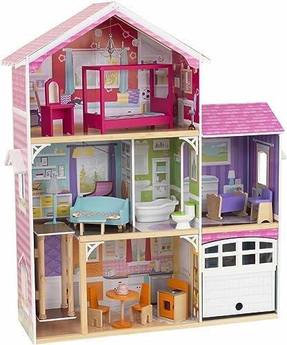 KidKraft Puppenhaus Barbiehaus mit M l Avery 3-Stückig 100,5x32x116,3 cm 65943