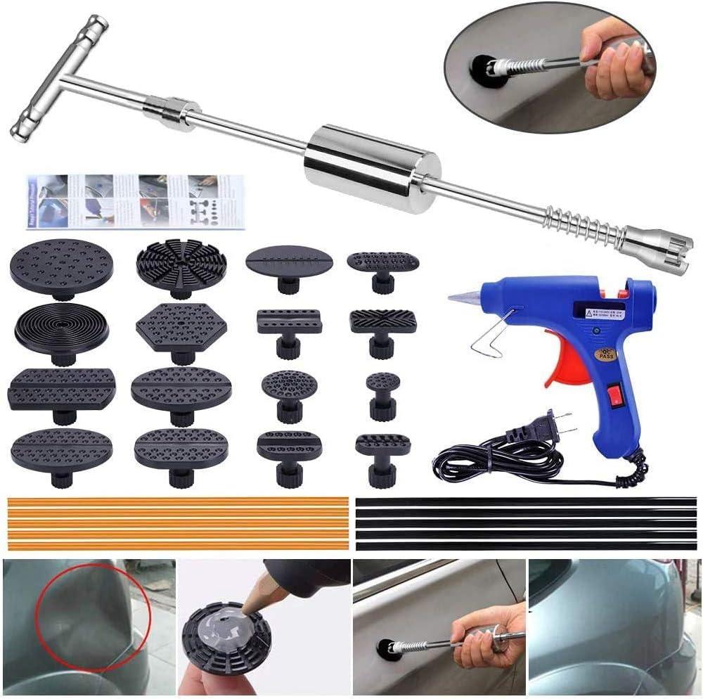 91x PDR Auto Body Paintless Dent Repair Dent Lifter Slide Hammer Dent Tools Kits