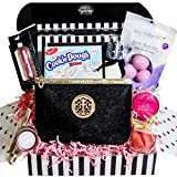 Women's Birthday Gift Basket Surprise Box Set - Unique Beauty Kit Idea for Mom, Sister, Aunt, Best Friend, Girlfriend - Special Present Includes Variety of Female Beauty Essentials That She Will Love!