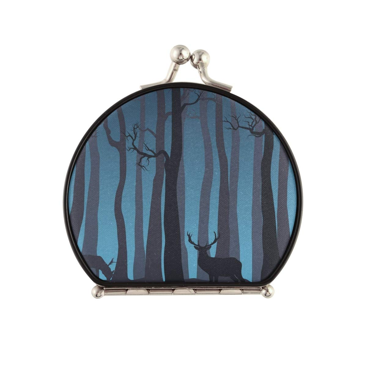 Travel Makeup Mirror for Women Limited time trial price - Compact Forests Don't miss the campaign Dou Deer