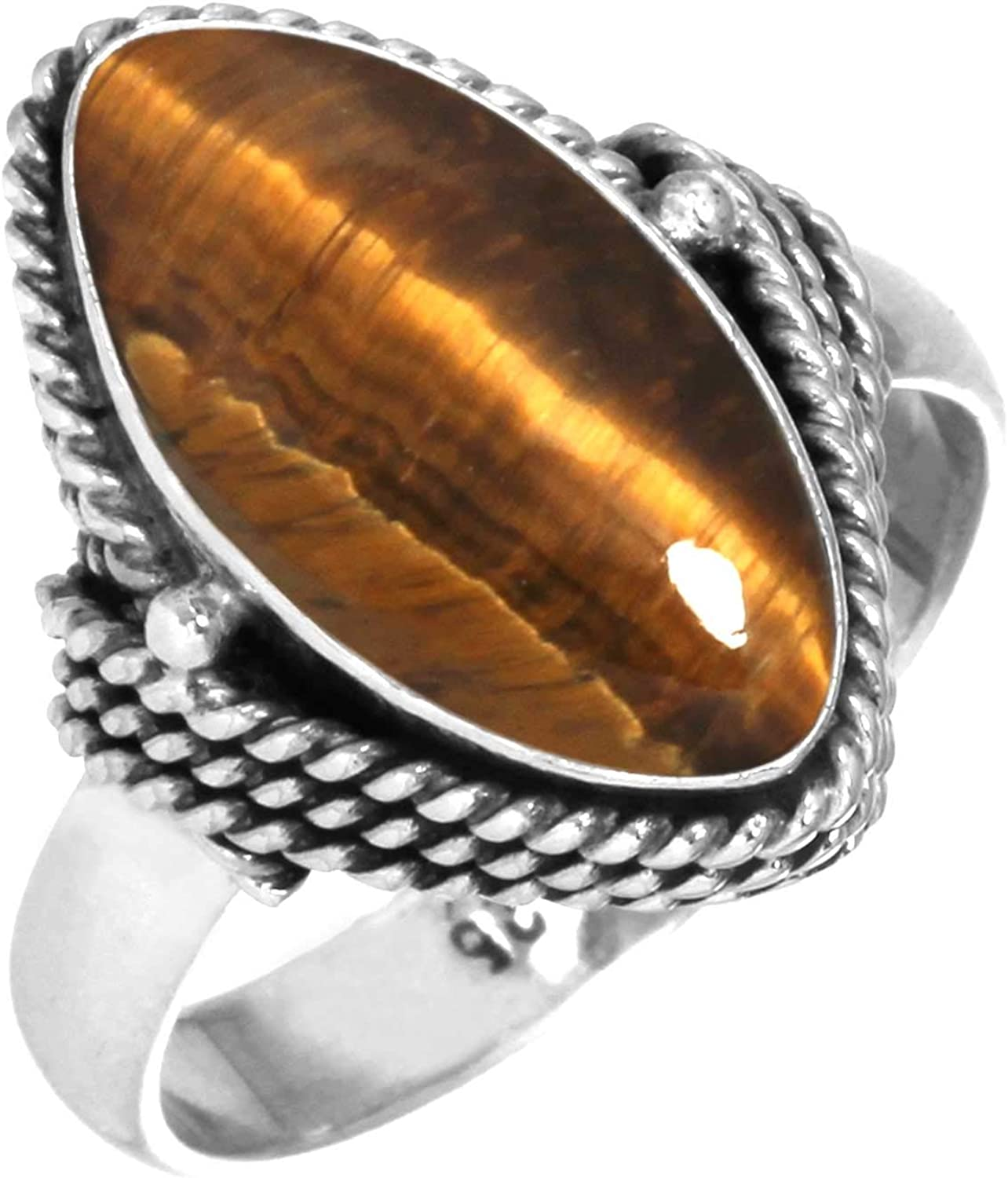 JEWELOPORIUM Solid 925 Sterling Silver Gemstone fo Ring Handmade Limited All items in the store price