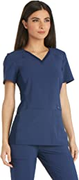 Top Rated in Women's Medical Scrub Shirts