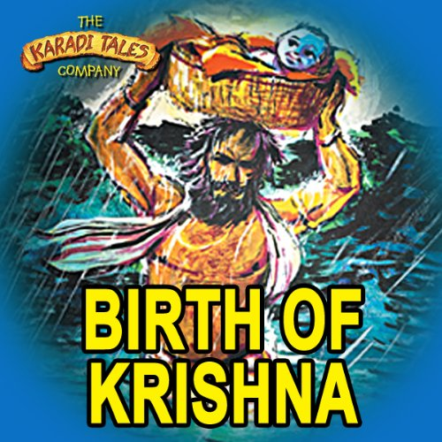 Birth of Krishna audiobook cover art