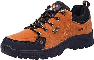 marca QLJ01 Antideslizante Antideslizante Antideslizante Absorción De Choques, Zapatos De Senderismo De Gran Tamao, Resistentes A Los Golpes, Al Aire Libre para Hombres, Zapatos Deportivos De Moda.  están haciendo actividades de descuento