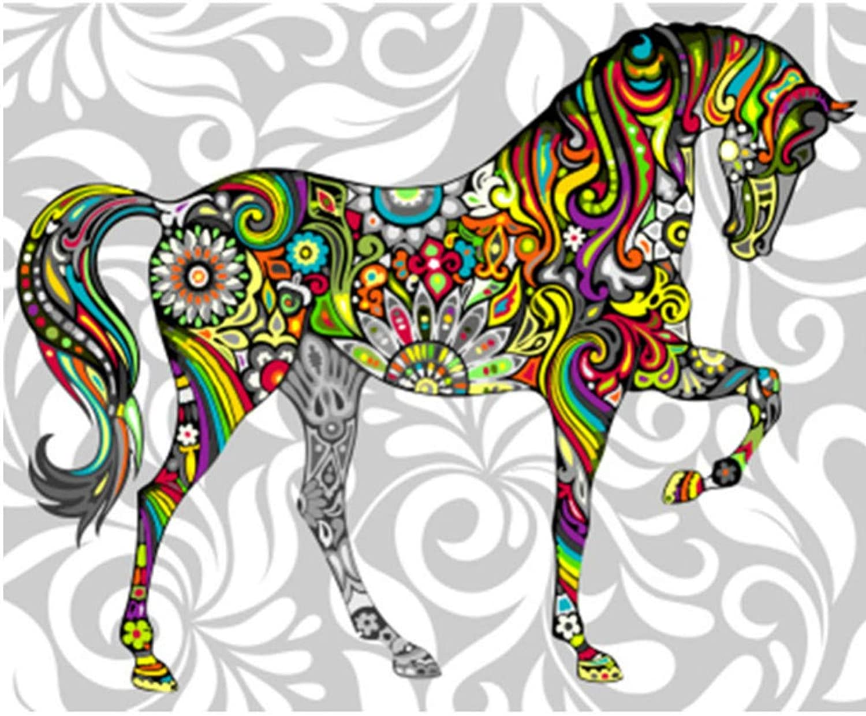 Wandkunst National Wind Malerei Paintworks Für Erwachsene DIY Ölfarbe Von Number Kit-Rahmen 40X50Cm B07PG4G5G4 | Spielen Sie das Beste