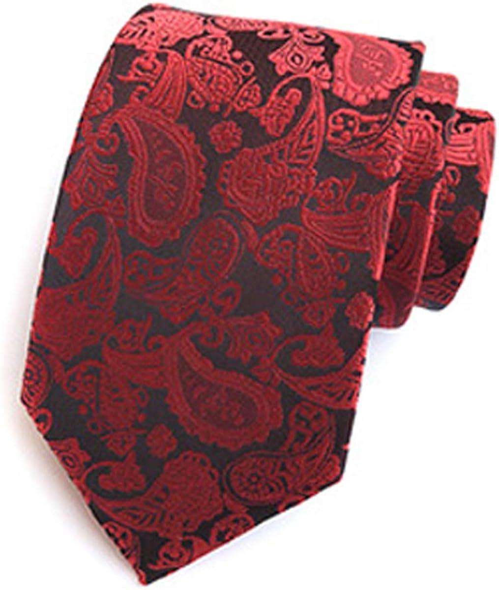 Men's Skinny Floral Tie