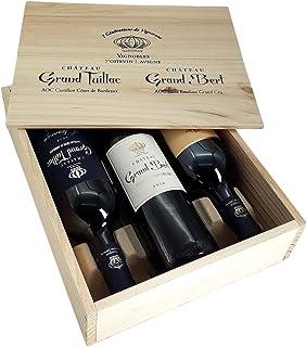 Coffret Découverte 3 Bouteilles - Saint Emilion Grand Cru & Castillon Côtes de Bordeaux