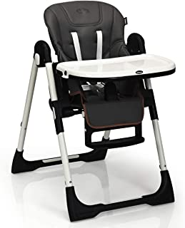 INFANS High Chair for Babies & Toddlers, Foldable Highchair with Multiple Adjustable..