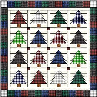 Quilt Kit O' Christmas Tree Farmhouse Style Precut Ready to Sew