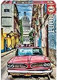 Educa - Coche en la Habana Puzzle, 1000 Piezas, Multicolor (16754)