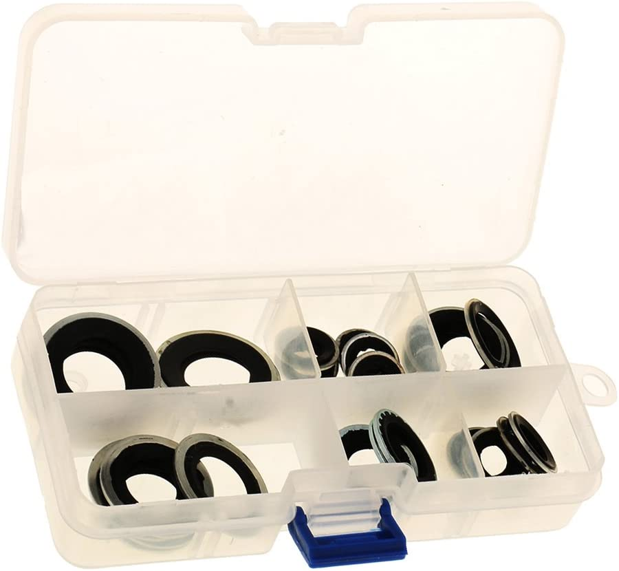 Baoblaze 30 Pieces AC Compressor Shaft Gasket Seal Tool At the price of surprise Install security